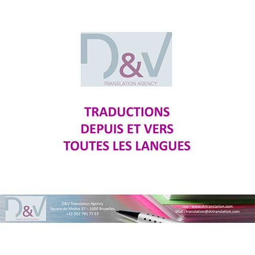 traducteur toute langue