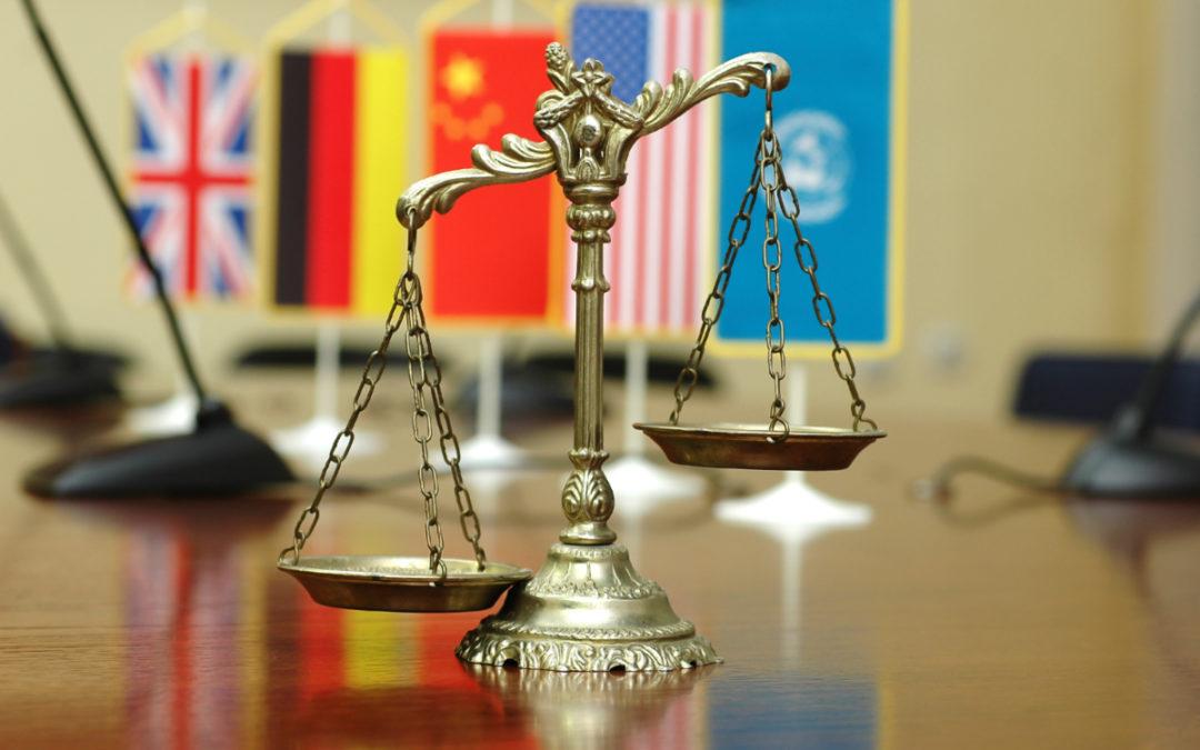 Une traduction professionnelle pour le droit international fixe le cadre