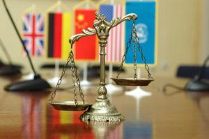 Traduction professionnelle pour le droit international