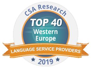 D&V Translation et le Groupe Tradutec installés dans le TOP 40 européen des sociétés de traduction